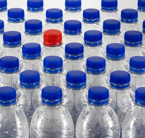 "From the bottle life cycle, rPET - a recycled PET material or more commonly known as ""recycled polyester"" - is increasingly popular."
